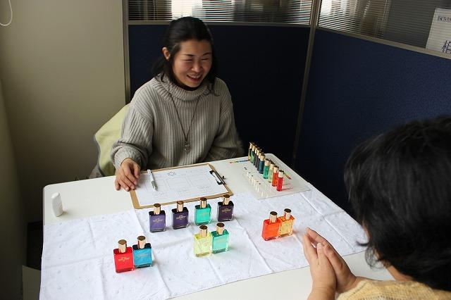 2期生青野さんのセンセーションカラーセラピー