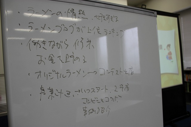 せと・しごと塾プレゼン講座2012