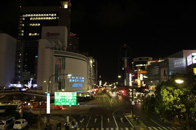 三宮の夜景