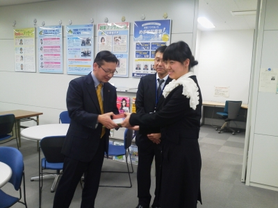中国視察団 in 創業プラザあいち